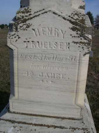 TURELSEN, HENRY - Douglas County, Nebraska   HENRY TURELSEN - Nebraska Gravestone Photos