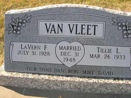 VAN VLEET, TILLIE L. - Douglas County, Nebraska | TILLIE L. VAN VLEET - Nebraska Gravestone Photos