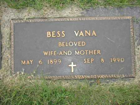 VANA, BESS - Douglas County, Nebraska | BESS VANA - Nebraska Gravestone Photos
