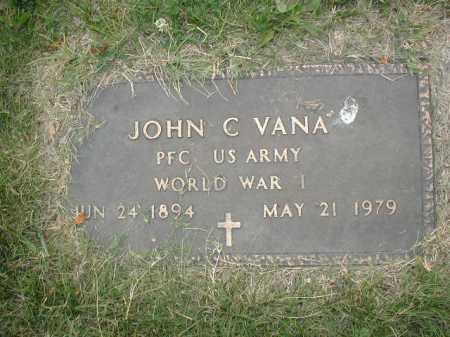VANA, JOHN C - Douglas County, Nebraska   JOHN C VANA - Nebraska Gravestone Photos