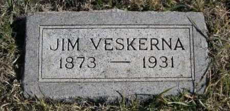 VESKERNA, JIM - Douglas County, Nebraska   JIM VESKERNA - Nebraska Gravestone Photos