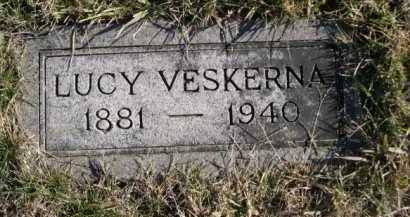 VESKERNA, LUCY - Douglas County, Nebraska | LUCY VESKERNA - Nebraska Gravestone Photos
