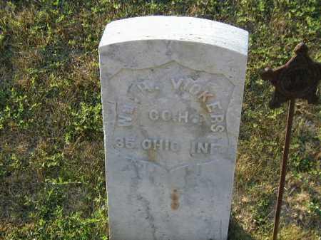 VICKERS, WILLIAM H - Douglas County, Nebraska   WILLIAM H VICKERS - Nebraska Gravestone Photos