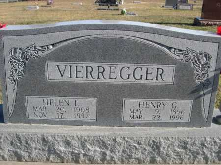VIERREGGER, HENRY G. - Douglas County, Nebraska | HENRY G. VIERREGGER - Nebraska Gravestone Photos