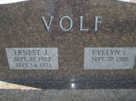 VOLF, EVELYN L. - Douglas County, Nebraska | EVELYN L. VOLF - Nebraska Gravestone Photos