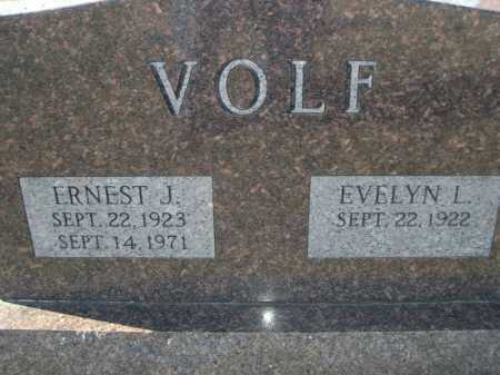 VOLF, EVELYN L. - Douglas County, Nebraska   EVELYN L. VOLF - Nebraska Gravestone Photos