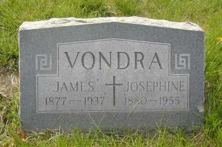 VONDRA, JAMES - Douglas County, Nebraska | JAMES VONDRA - Nebraska Gravestone Photos