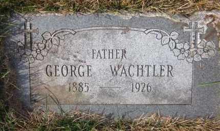 WACHTLER, GEORGE - Douglas County, Nebraska   GEORGE WACHTLER - Nebraska Gravestone Photos