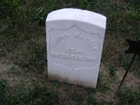 WADDLE, JOSIAH - Douglas County, Nebraska | JOSIAH WADDLE - Nebraska Gravestone Photos
