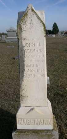 WAGEMAN, JOHN - Douglas County, Nebraska | JOHN WAGEMAN - Nebraska Gravestone Photos