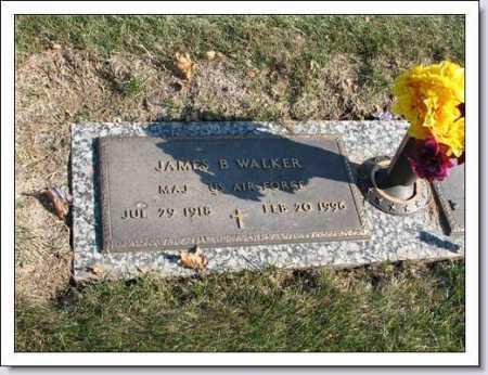 WALKER, JAMES B. - Douglas County, Nebraska | JAMES B. WALKER - Nebraska Gravestone Photos