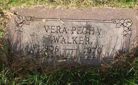 PECHA WALKER, VERA C - Douglas County, Nebraska | VERA C PECHA WALKER - Nebraska Gravestone Photos