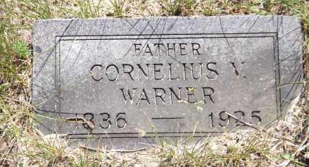 WARNER, CORNELIUS V. - Douglas County, Nebraska | CORNELIUS V. WARNER - Nebraska Gravestone Photos