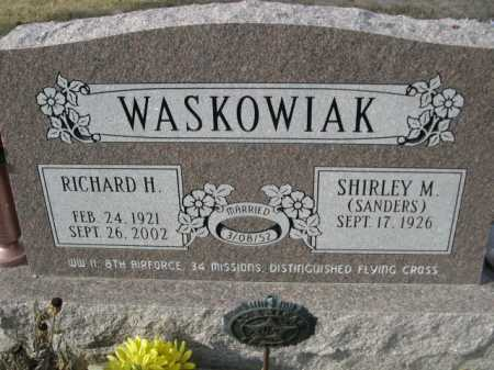SANDERS WASKOWIAK, SHIRLEY M. - Douglas County, Nebraska | SHIRLEY M. SANDERS WASKOWIAK - Nebraska Gravestone Photos