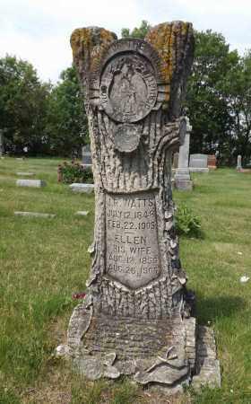 WATTS, ELLEN - Douglas County, Nebraska | ELLEN WATTS - Nebraska Gravestone Photos