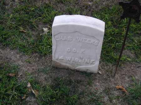 WEEKS, CHAS - Douglas County, Nebraska | CHAS WEEKS - Nebraska Gravestone Photos