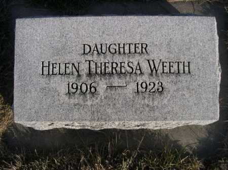 WEETH, HELEN THERESA - Douglas County, Nebraska | HELEN THERESA WEETH - Nebraska Gravestone Photos