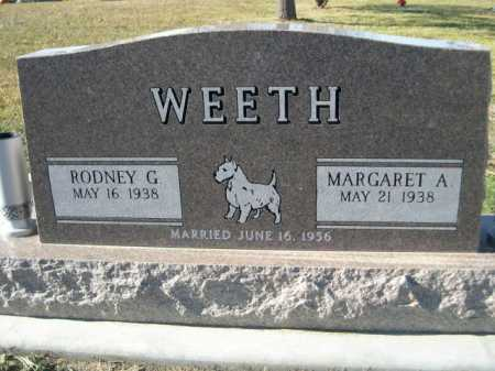 WEETH, MARGARET A. - Douglas County, Nebraska | MARGARET A. WEETH - Nebraska Gravestone Photos