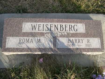WEISENBERG, HARRY R. - Douglas County, Nebraska | HARRY R. WEISENBERG - Nebraska Gravestone Photos