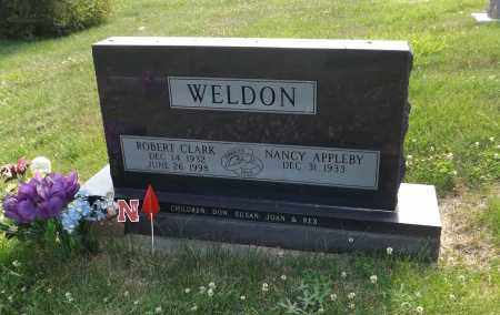 WELDON, ROBERT CLARK - Douglas County, Nebraska | ROBERT CLARK WELDON - Nebraska Gravestone Photos