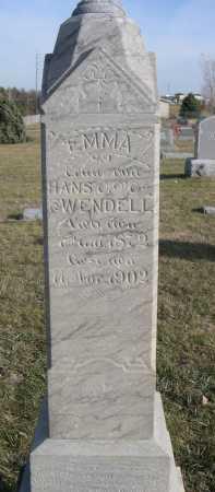 WENDELL, EMMA - Douglas County, Nebraska | EMMA WENDELL - Nebraska Gravestone Photos