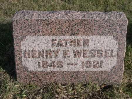 WESSEL, HENRY E. - Douglas County, Nebraska | HENRY E. WESSEL - Nebraska Gravestone Photos