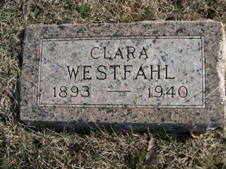 WESTFAHL, CLARA - Douglas County, Nebraska | CLARA WESTFAHL - Nebraska Gravestone Photos