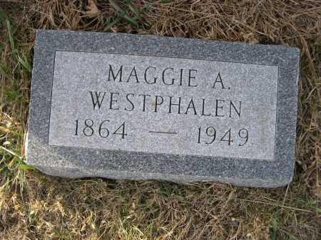 WESTPHALEN, MAGGIE A. - Douglas County, Nebraska | MAGGIE A. WESTPHALEN - Nebraska Gravestone Photos