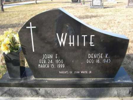 WHITE, JOHN F. - Douglas County, Nebraska | JOHN F. WHITE - Nebraska Gravestone Photos