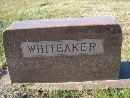 WHITEAKER, FAMILY - Douglas County, Nebraska | FAMILY WHITEAKER - Nebraska Gravestone Photos