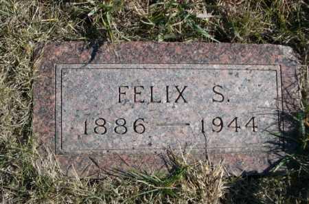 WHITEAKER, FELIX S. - Douglas County, Nebraska | FELIX S. WHITEAKER - Nebraska Gravestone Photos