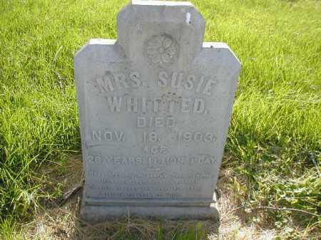 WHITTED, SUSIE - Douglas County, Nebraska | SUSIE WHITTED - Nebraska Gravestone Photos