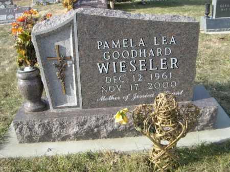 GOODHARD WIESELER, PAMELA LEA GOODHARD - Douglas County, Nebraska | PAMELA LEA GOODHARD GOODHARD WIESELER - Nebraska Gravestone Photos
