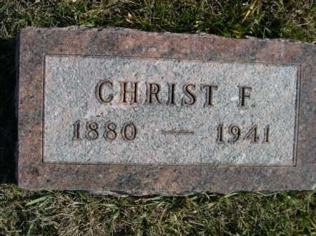 WILDHAGEN, CHRIST F. - Douglas County, Nebraska   CHRIST F. WILDHAGEN - Nebraska Gravestone Photos