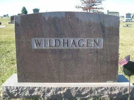 WILDHAGEN, FAMILY - Douglas County, Nebraska   FAMILY WILDHAGEN - Nebraska Gravestone Photos