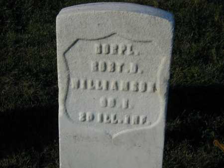 WILLIAMSON, ROBERT D - Douglas County, Nebraska | ROBERT D WILLIAMSON - Nebraska Gravestone Photos
