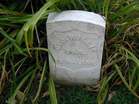 WILLIS, GEO. - Douglas County, Nebraska | GEO. WILLIS - Nebraska Gravestone Photos