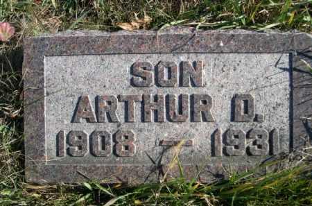 WILLMS, ARTHUR D. - Douglas County, Nebraska   ARTHUR D. WILLMS - Nebraska Gravestone Photos