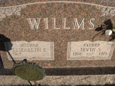 WILLMS, ELIZABETH E. - Douglas County, Nebraska   ELIZABETH E. WILLMS - Nebraska Gravestone Photos