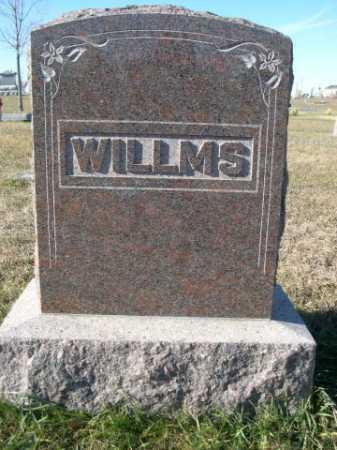 WILLMS, FAMILY - Douglas County, Nebraska | FAMILY WILLMS - Nebraska Gravestone Photos