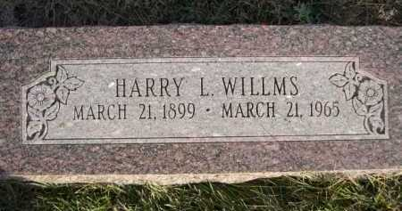 WILLMS, HARRY L. - Douglas County, Nebraska | HARRY L. WILLMS - Nebraska Gravestone Photos