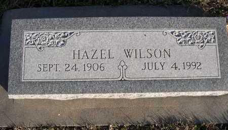 WILSON, HAZEL - Douglas County, Nebraska | HAZEL WILSON - Nebraska Gravestone Photos