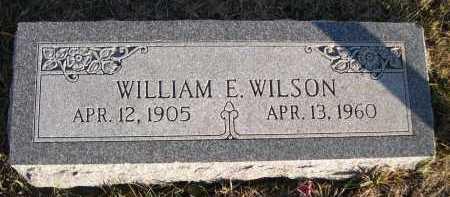 WILSON, WILLIAM E. - Douglas County, Nebraska | WILLIAM E. WILSON - Nebraska Gravestone Photos