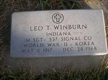 WINBURN, LEO T. - Douglas County, Nebraska | LEO T. WINBURN - Nebraska Gravestone Photos
