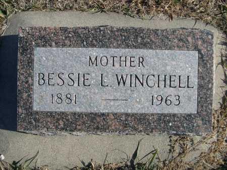 WINCHELL, BESSIE L. - Douglas County, Nebraska   BESSIE L. WINCHELL - Nebraska Gravestone Photos