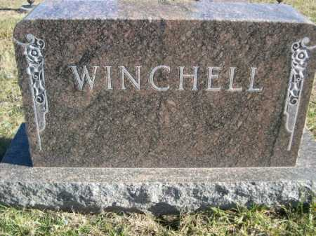 WINCHELL, FAMILY - Douglas County, Nebraska | FAMILY WINCHELL - Nebraska Gravestone Photos