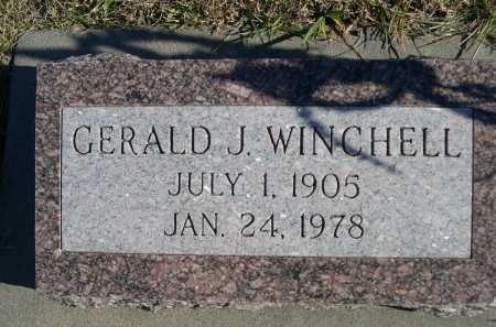 WINCHELL, GERALD J. - Douglas County, Nebraska | GERALD J. WINCHELL - Nebraska Gravestone Photos
