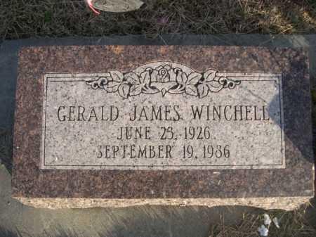 WINCHELL, GERALD JAMES - Douglas County, Nebraska | GERALD JAMES WINCHELL - Nebraska Gravestone Photos