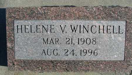 WINCHELL, HELENE V. - Douglas County, Nebraska | HELENE V. WINCHELL - Nebraska Gravestone Photos