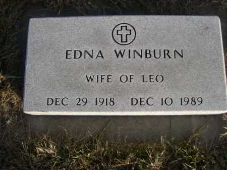 WINBURN, EDNA - Douglas County, Nebraska   EDNA WINBURN - Nebraska Gravestone Photos